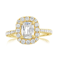 Complete 1.39 Carat Diamond Engagement Ring