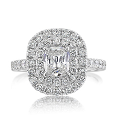 Complete 1.43 Carat Diamond Engagement Ring