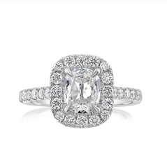 Complete 1.49 Carat Diamond Engagement Ring