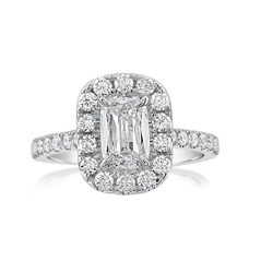 Complete 1.57 Carat Diamond Engagement Ring