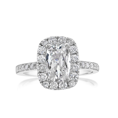 Complete 1.66 Carat Diamond Engagement Ring
