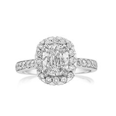 Complete 1.77 Carat Aura Diamond Engagement Ring