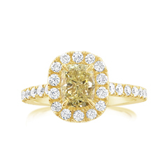 Complete 1.80 Carat Diamond Engagement Ring
