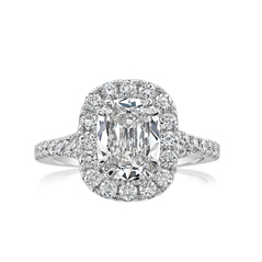 Complete 2.21 Carat Diamond Engagement Ring