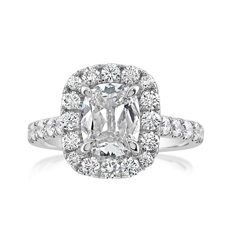 Complete 2.29 Carat Diamond Engagement Ring