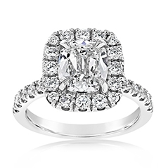 Complete 2.40 Carat Diamond Engagement Ring