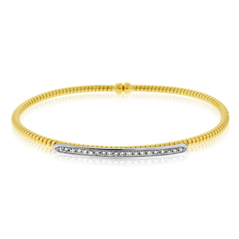Diamond Bar Flex Bracelet
