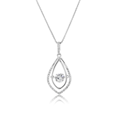 Diamond in Motion Pendant