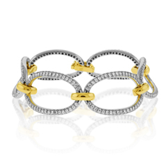 Diamond Link Fashion Bracelet