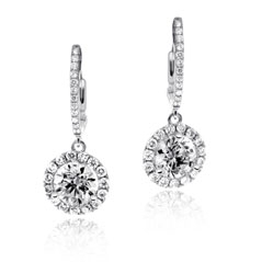 Diamond Margarita Dangle Earrings