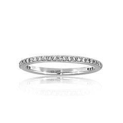Diamond Spacer Band
