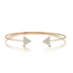 DOVES Diamond Cuff