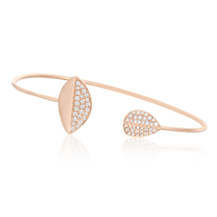 DOVES Diamond Cuff Bracelet