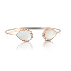 DOVES Mother-of-Pearl & Diamond Cuff