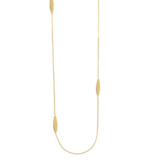 Elongated Marquise Necklace