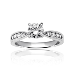 Enchantment Diamond Engagement Ring