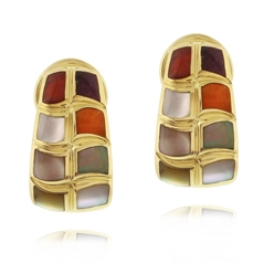Estate Asch Grossbardt Mother-of-Pearl Earrings