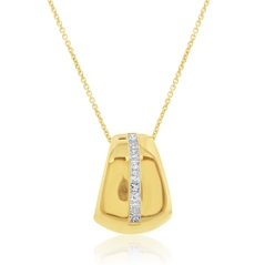 Estate Diamond Slide Pendant