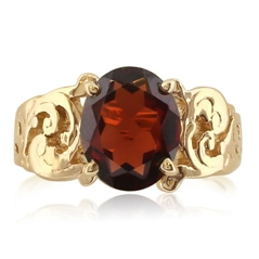 Estate Garnet Ring