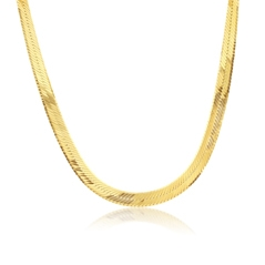 Estate Herringbone Necklace