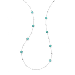 Estate Ippolita Rock Candy Mini Lollipop Necklace in Turquoise