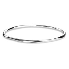 Estate Ippolita Sterling Silver Squiggle Bangle