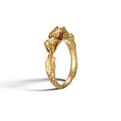 Estate John Hardy Batu Naga Ruby Ring