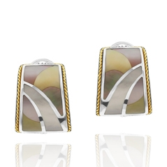 Estate Mother-of-Pearl Earrings