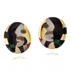 Estate Picasso Earrings