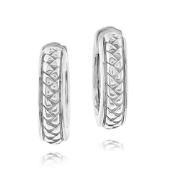 Estate Scott Kay Huggie Earrings