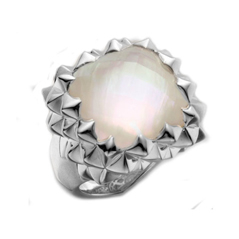 Estate Stephen Webster Superstud Mother-of-Pearl Ring