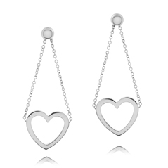 Estate Tiffany & Co. Heart Earrings