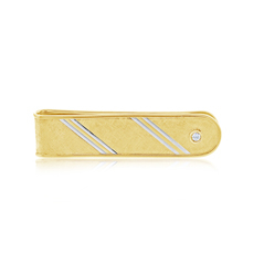 Estate Two Toned Money Clip