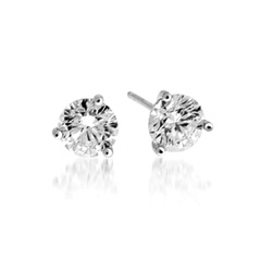 FOREVERMARK 1 1/2 Carat Diamond Stud Earrings
