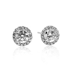 FOREVERMARK 1.19 Carat Diamond Margarita Stud Earrings