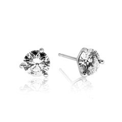 FOREVERMARK 2 Carat Diamond Stud Earrings