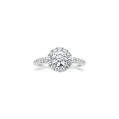 FOREVERMARK Center of My Universe Diamond Engagement Ring