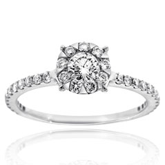 FOREVERMARK Complete .50 Carat Diamond Engagement Ring