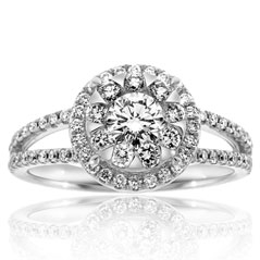 FOREVERMARK Complete .75 Carat Diamond Engagement Ring