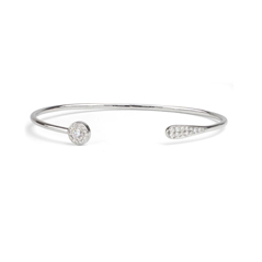 FOREVERMARK Diamond Halo Cuff