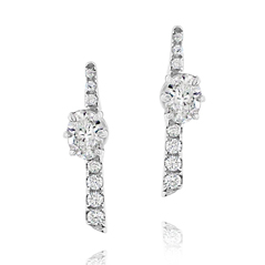 FOREVERMARK Jade Trau Diamond Earrings