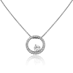 FOREVERMARK Large Bubble Pendant