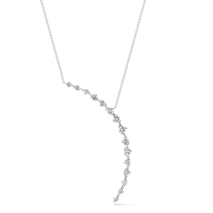 FOREVERMARK Rae Crescent Necklace
