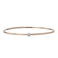 FOREVERMARK Single Diamond Bangle