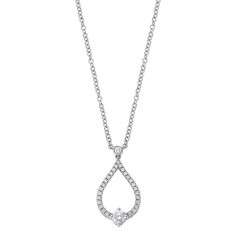FOREVERMARK Teardrop Necklace