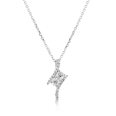 FOREVERMARK Two Stone Diamond Pendant