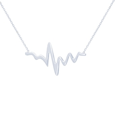 Heartbeat Gold Necklace