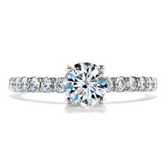 HEARTS ON FIRE Complete 1.08 Carat Enrichment Diamond Engagement Ring