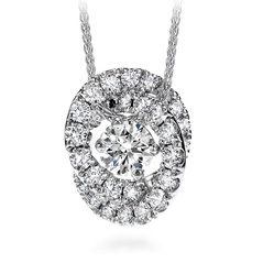 HEARTS ON FIRE Endeavor Diamond Necklace