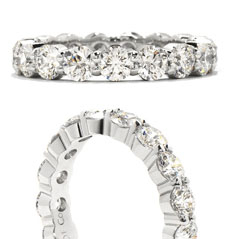 HEARTS ON FIRE Multiplicity Diamond Eternity Band
